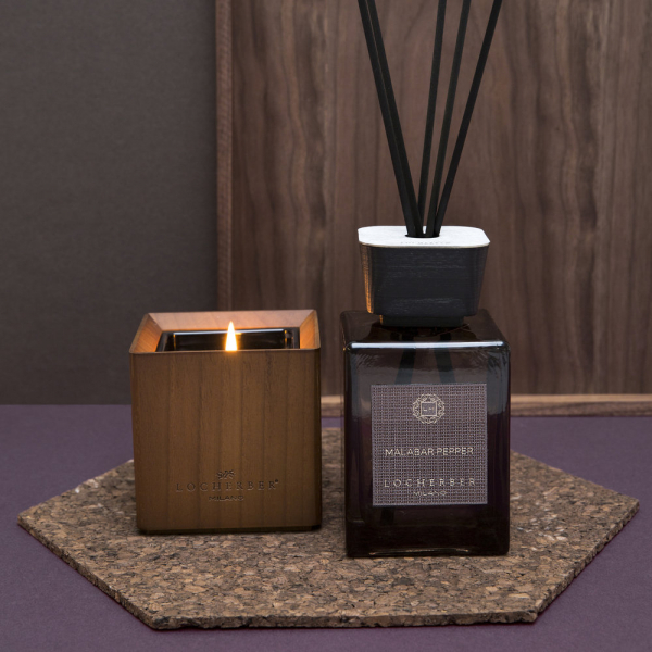 Locherber Milano ароматическая свеча Malabar Pepper 210 г