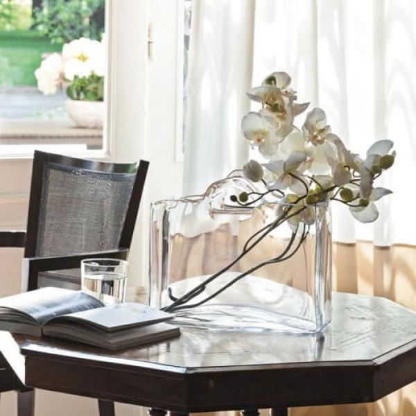 Adriani E Rossi Glass bag vase ваза C86X35