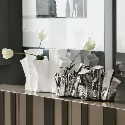Adriani E Rossi Skyline Long vase ваза Q191BIX95