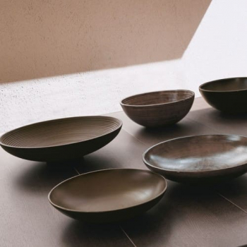Adriani E Rossi Smooth bowl ваза Q63MAX39