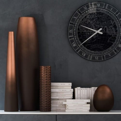 Adriani E Rossi Street 3 vase ваза Q265/5X44