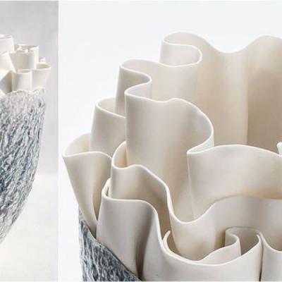 Fos Ceramiche Anthozoa ваза AVP-12 C