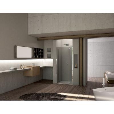 2B box Serie 3000 31D душевая дверь в нишу ширина 90 см. стекло прозрачное, профиль хром