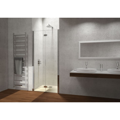 2B box Serie 4000 H5E душевая дверь в нишу ширина 100 см. стекло прозрачное, профиль хром