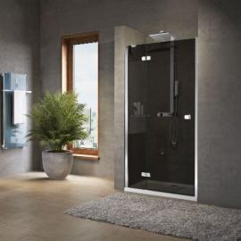 Novellini Brera G душевая дверь в нишу  89-91 см, стекло прозрачное, профиль хром.
