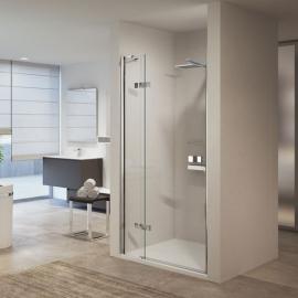 Novellini Gala 1B душевая дверь в нишу  87↔89,5 см. стекло прозрачное, профиль хром.