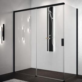 Novellini Opera PH+FH душевая кабина  140*100 см. стекло прозрачное, профиль черный