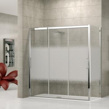Novellini Rose Rosse 3P+F душевая кабина 130*100 см. стекло прозрачное профиль хром
