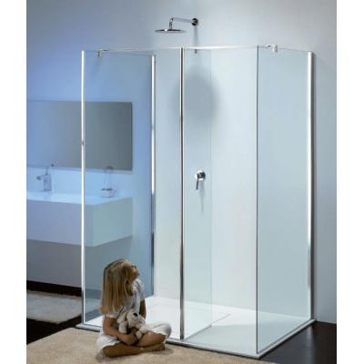 Provex Modula ME душевая стенка ширина 140*90 см. стекло прозрачное, профиль хром