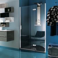 Samo Grand Polaris B3746 душевая дверь в нишу ширина 120 см.стекло прозрачное, профиль хром