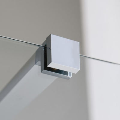 Samo Open B4054 душевая стенка ширина 120 см.стекло прозрачное, профиль хром