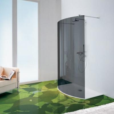 Samo Open B4960 душевая стенка ширина 140 см.стекло прозрачное, профиль хром