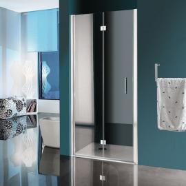 Samo Polaris B9547 душевая дверь в нишу ширина 90 см. стекло прозрачное, профиль хром