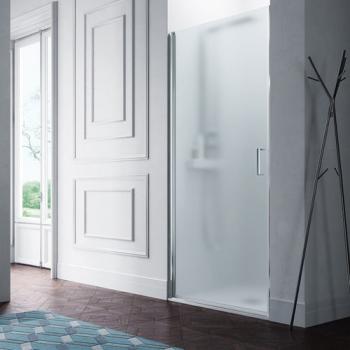 Samo Polaris B3936 душевая дверь в нишу ширина 90 см. стекло сатинированное, профиль хром