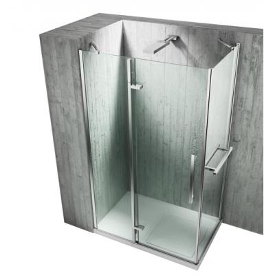 Душевая дверь в нишу Vismara Vetro - Sintesi Tiquadro