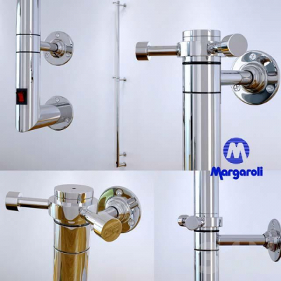 Margaroli ARCOBALENO радиатор электрический H-168.5 черный матовый