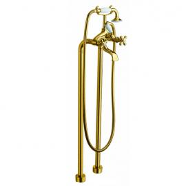 LaTorre Leonardo cмеситель для ванны напольный 23029 Oro