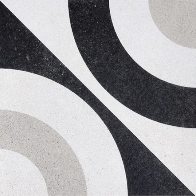 Керамическая плитка для пола и стен Fioranese - Cementine Black & White