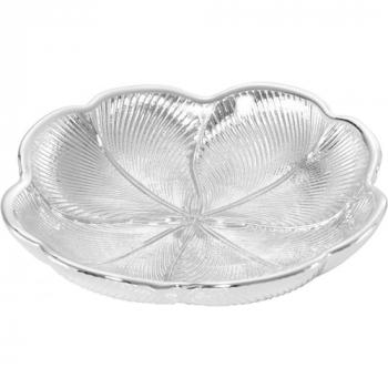 Argenesi Quadrifoglio silver блюдо 15 см