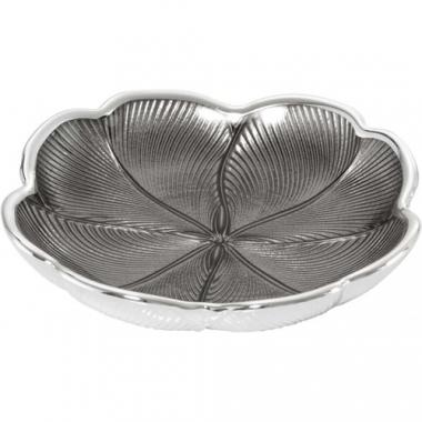 Argenesi Quadrifoglio ice grey блюдо 15 см