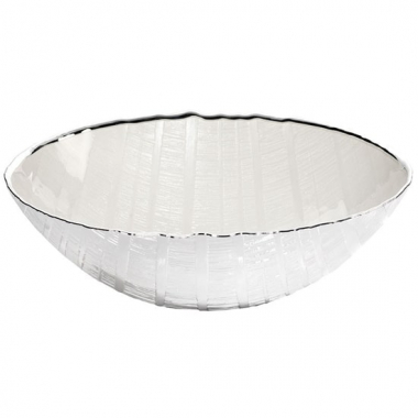Argenesi Wood bianco perla блюдо 26 см