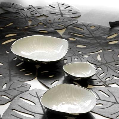 Argenesi Zen silver блюдо 30 см