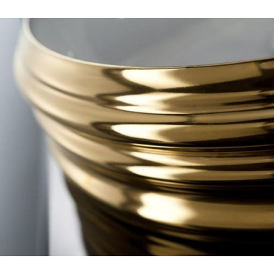 AeT Class раковина накладная L608/L250 цвет белый /снаружи золото