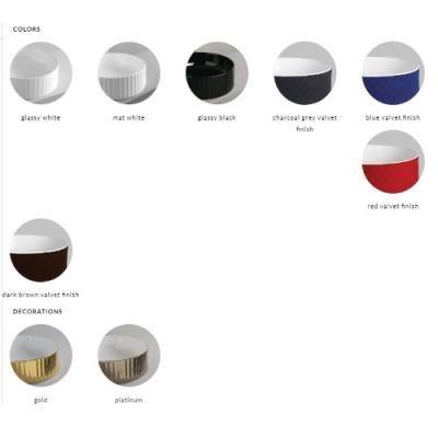ArtCeram раковина накладная цветная Millerighe OSL010