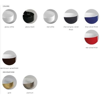 ArtCeram раковина накладная цветная Rombo OSL009