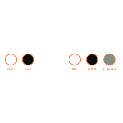 Flaminia Plate раковина подвесная цветная PT54L