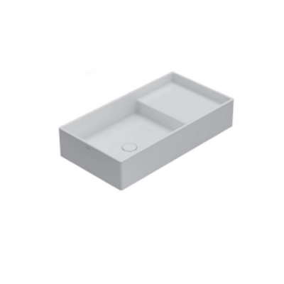 Globo Display раковина накладная белая DI075