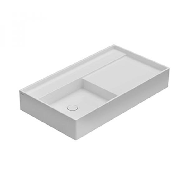 Globo Display раковина накладная белая DI091A