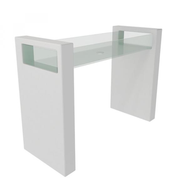 GSG Glass раковина напольная белая GLLACOL120FS