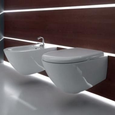Kerasan Aquatech унитаз подвесной белый 3715/3714