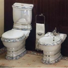 Унитаз напольный цветной Ceramica Ala - Excelsior Dec904