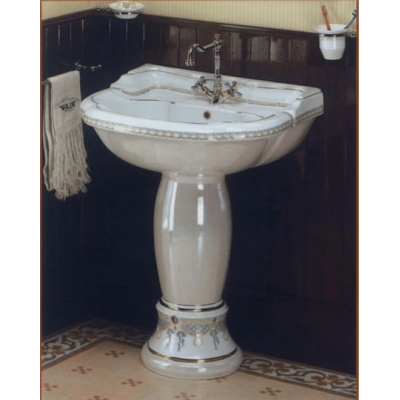 Раковина с колонной Ceramica Ala - Excelsior Dec902