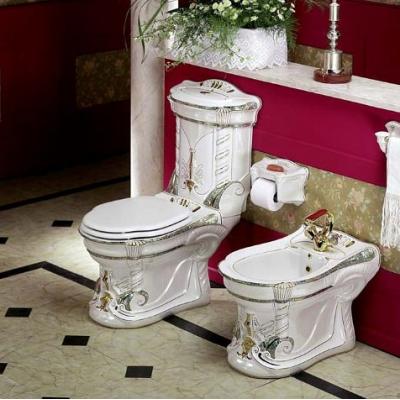 Биде напольное цветное Ceramica Ala - Majesty Dec1008