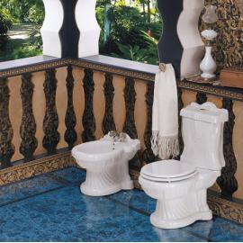 Унитаз напольный белый Ceramica Ala - New Lord