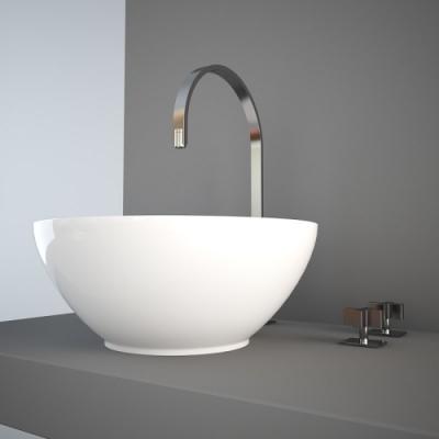 Nic Design Flavia раковина накладная белая 001 034