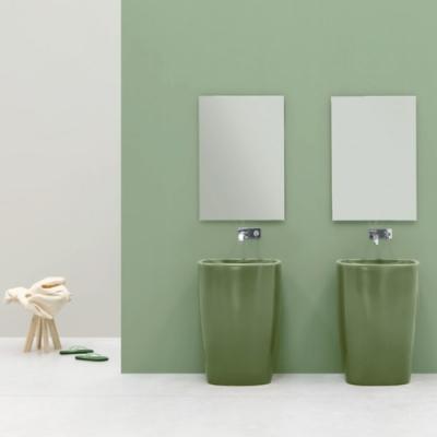 Nic Design Milk раковина напольная отдельностоящая цветная 001 287