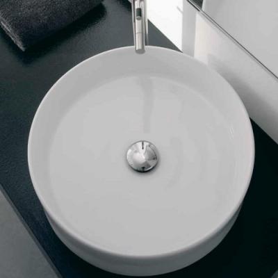 Nic Design Ovvio раковина накладная белая 001 448