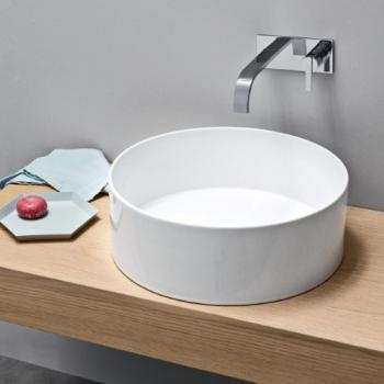 Nic Design Ovvio раковина накладная белая 001 449