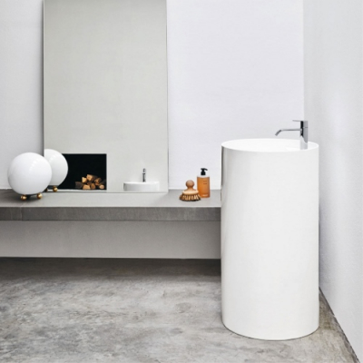 Nic Design Ovvio раковина напольная отдельностоящая белая 001 454
