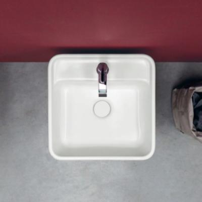 Nic Design Semplice раковина напольная отдельностоящая белая 001 371