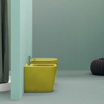 Nic Design Semplice биде напольное цветное 004370