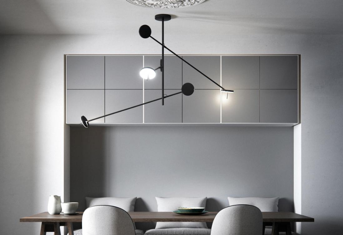 Светильники Grok - простота и легкость в коллекции Invisible